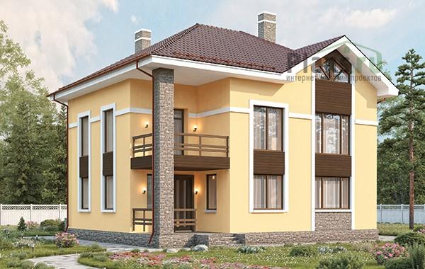 Проект бетонного дома 58-97