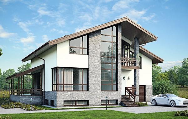 Проект бетонного дома 59-20