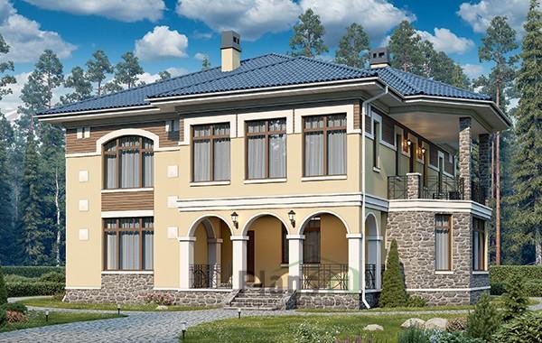 Проект бетонного дома 59-26