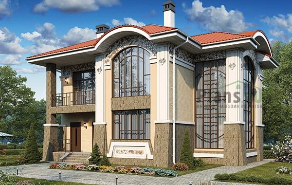 Проект бетонного дома 59-30