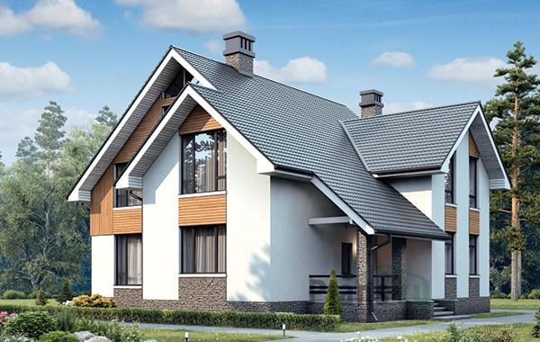Проект бетонного дома 59-41