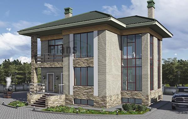 Проект бетонного дома 59-43