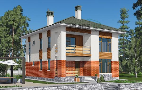 Проект бетонного дома 59-47
