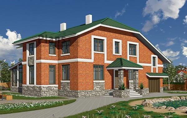 Проект бетонного дома 59-55