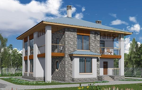 Проект бетонного дома 59-71
