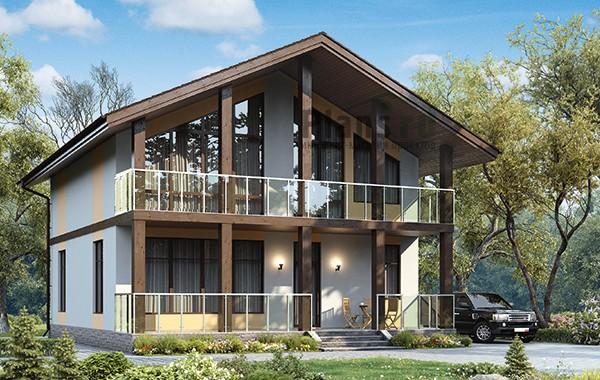 Проект бетонного дома 59-88