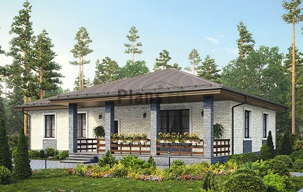 Проект бетонного дома 59-94