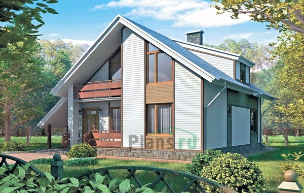 Проект кирпичного дома 70-37