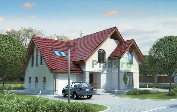 Проект кирпичного дома 70-60