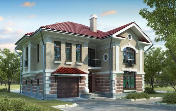 Проект кирпичного дома 70-61