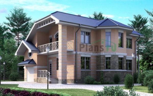 Проект кирпичного дома 70-63