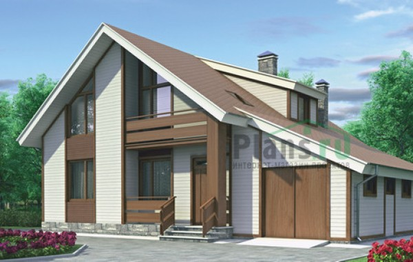 Проект кирпичного дома 70-70