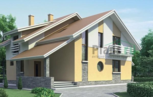 Проект кирпичного дома 70-77