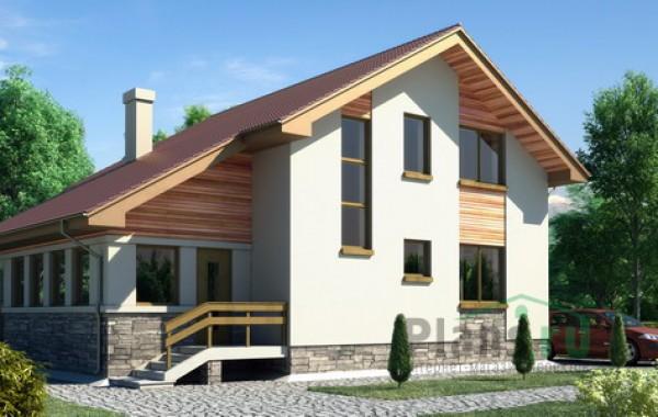 Проект кирпичного дома 70-89