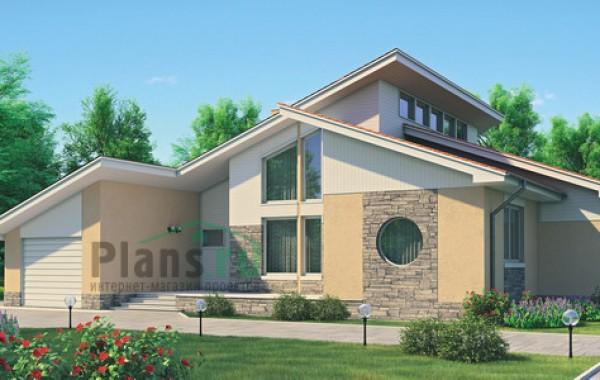 Проект кирпичного дома 70-94