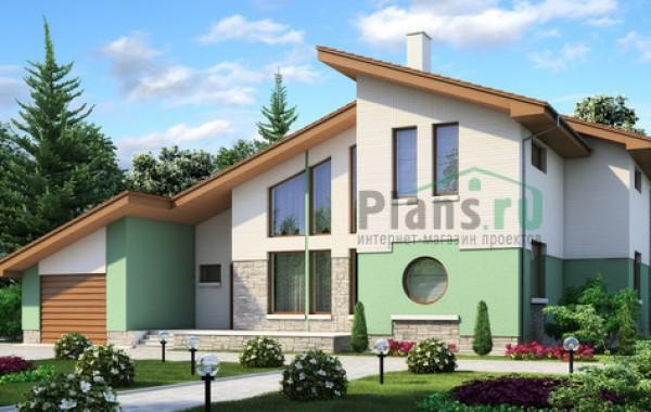 Проект кирпичного дома 70-97