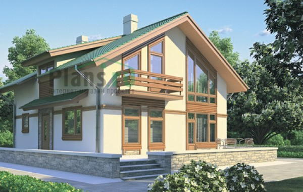 Проект кирпичного дома 70-99