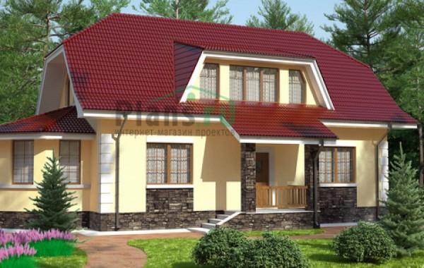 Проект кирпичного дома 71-03