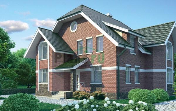 Проект кирпичного дома 71-12