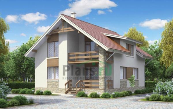Проект кирпичного дома 71-17