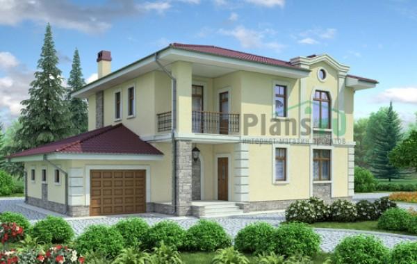 Проект кирпичного дома 71-23