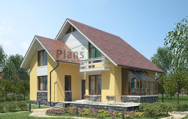 Проект кирпичного дома 71-25