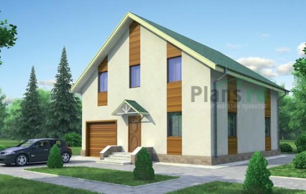 Проект кирпичного дома 71-28