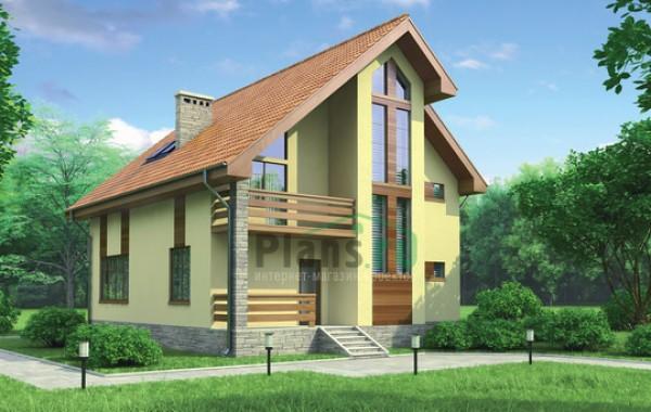 Проект кирпичного дома 71-29