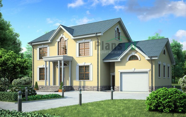 Проект кирпичного дома 71-35