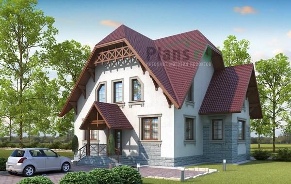 Проект кирпичного дома 71-36