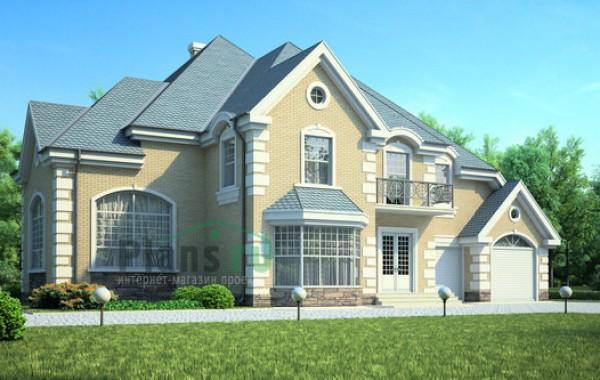 Проект кирпичного дома 71-38