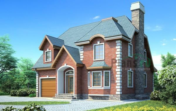 Проект кирпичного дома 71-42