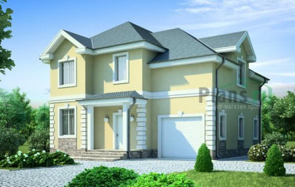 Проект кирпичного дома 71-45