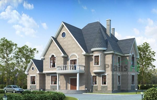 Проект кирпичного дома 71-47