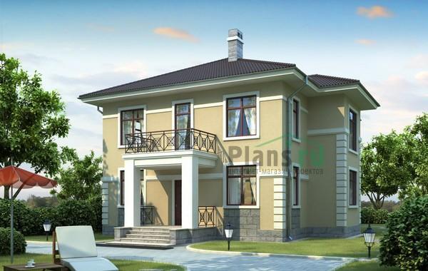 Проект кирпичного дома 71-58
