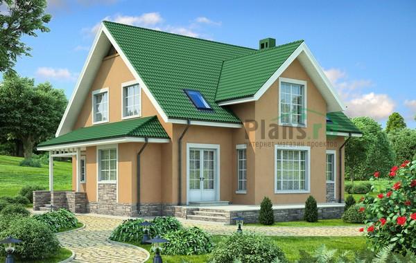 Проект кирпичного дома 71-61