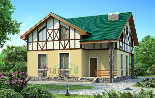 Проект кирпичного дома 71-62