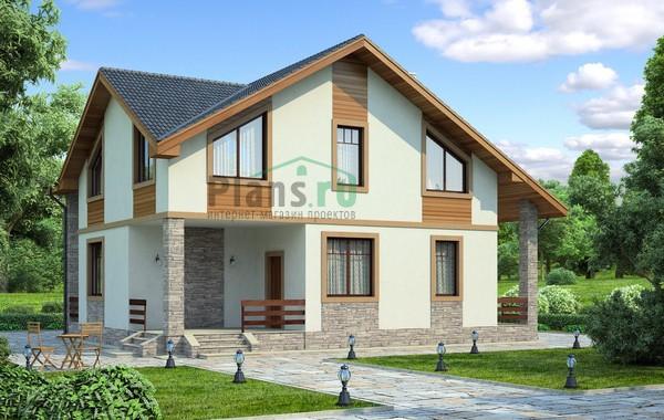 Проект кирпичного дома 71-63