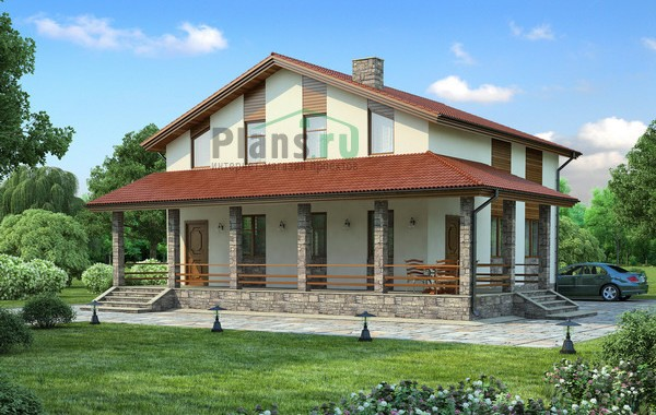 Проект кирпичного дома 71-64