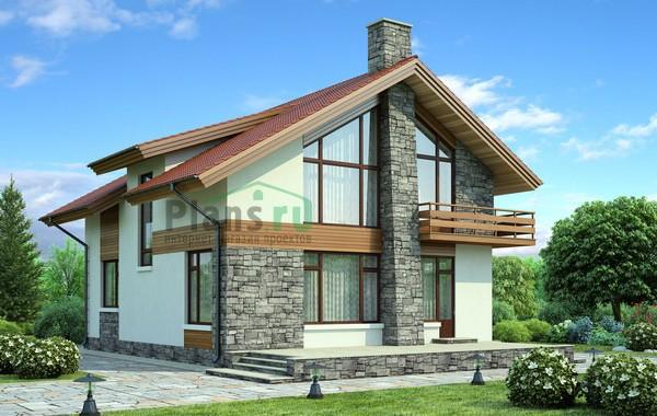 Проект кирпичного дома 71-68