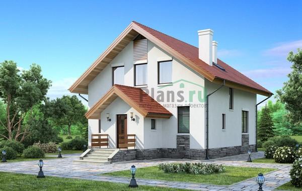 Проект кирпичного дома 71-69