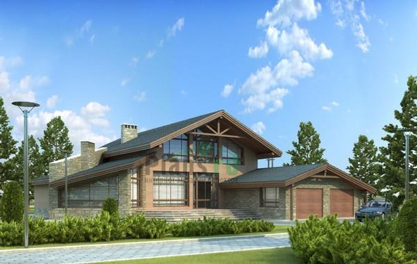 Проект кирпичного дома 71-71