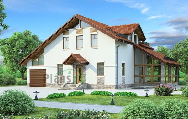 Проект кирпичного дома 71-74