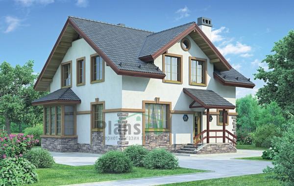 Проект кирпичного дома 71-84
