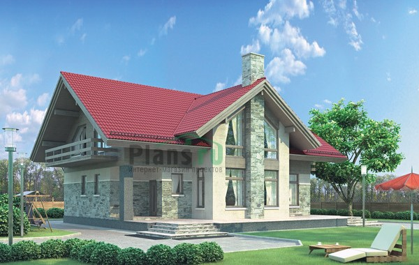 Проект кирпичного дома 71-85