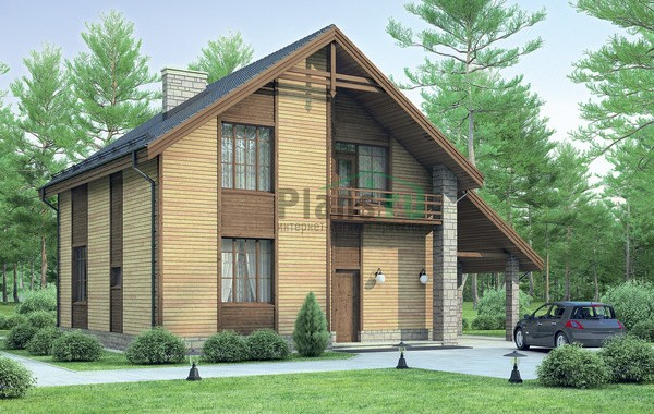 Проект кирпичного дома 71-88
