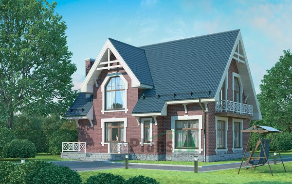 Проект кирпичного дома 71-96