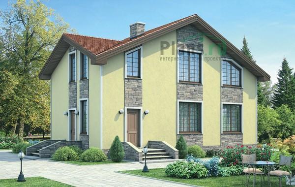 Проект кирпичного дома 72-02