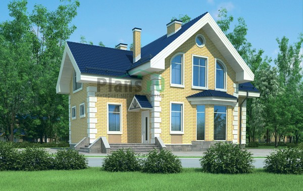 Проект кирпичного дома 72-04
