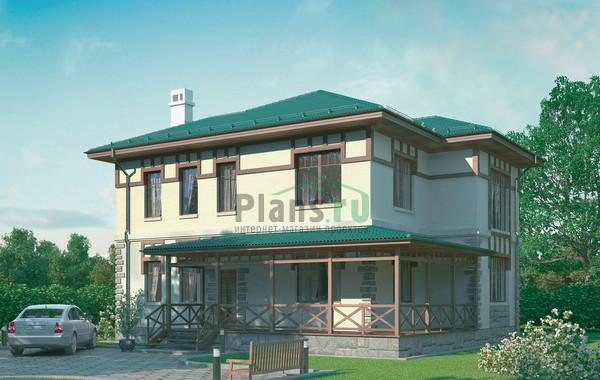 Проект кирпичного дома 72-07